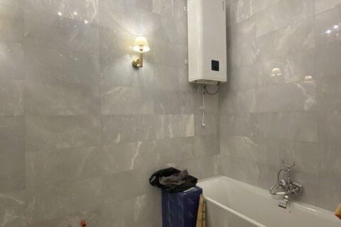 bathtube and boiler