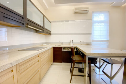 kitchen with all appliance