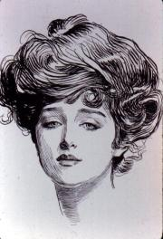 gibson girl ideal de belleza