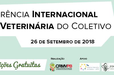 Pré-conferência internacional da medicina veterinária do coletivo