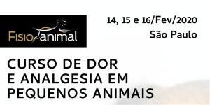 Vet agenda - IV Curso De Dor E Analgesia Em Pequenos Animais
