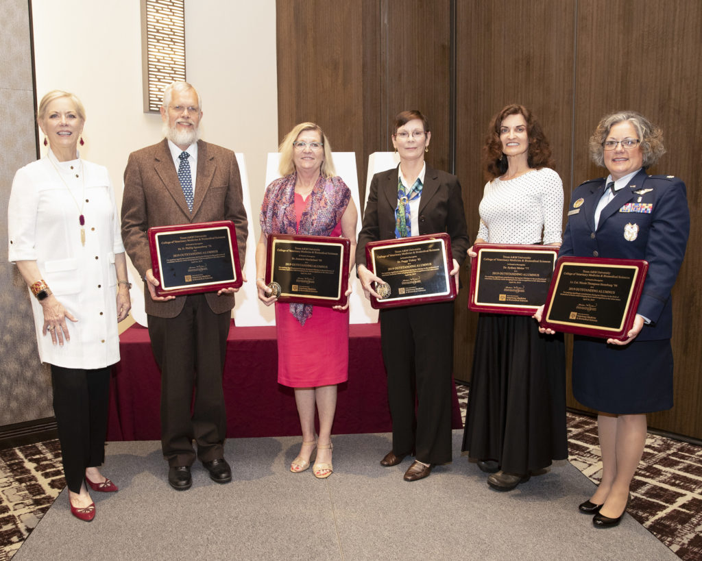 """CVM Faculty Member Named An """"Outstanding Alumni"""" By Texas"""