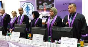 مشاركة الاستاذ المساعد الدكتور نبيل الشريفي في لجنة مناقشة في جامعة بغداد