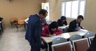 ابتداء امتحانات الكورس الاول لطلبة الدراسات العليا