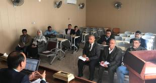 The teaching staff of faculty of veterinary medicine have organized workshop about application of modules