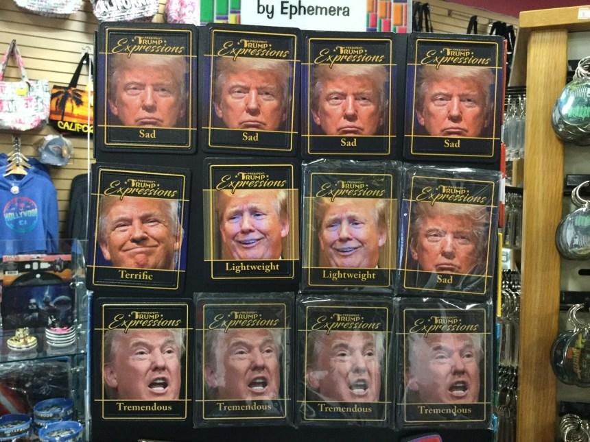 Эмоции Трампа