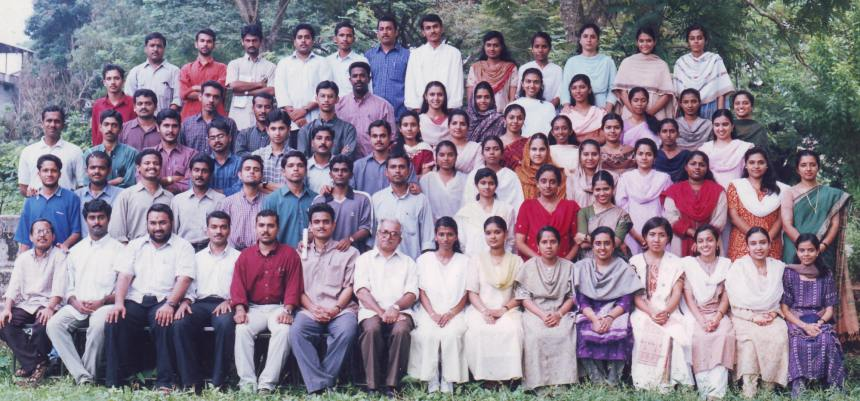 1996 batch vets COVAS Mannuthy group photo
