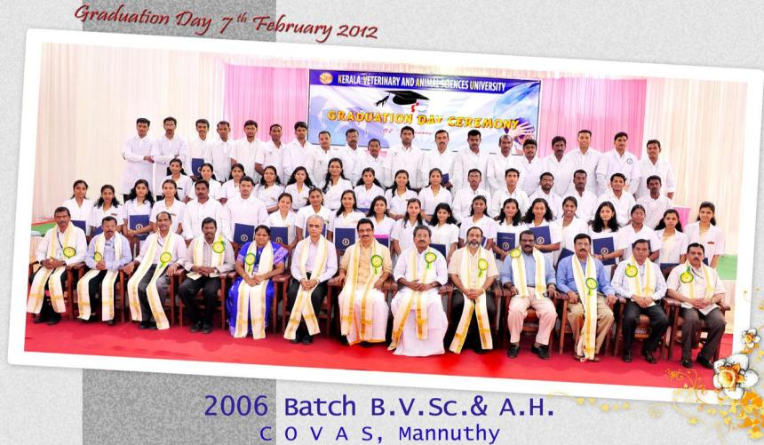 Graduation day Photo of 2006 Batch