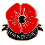 Poppy Day: Lest We Forget
