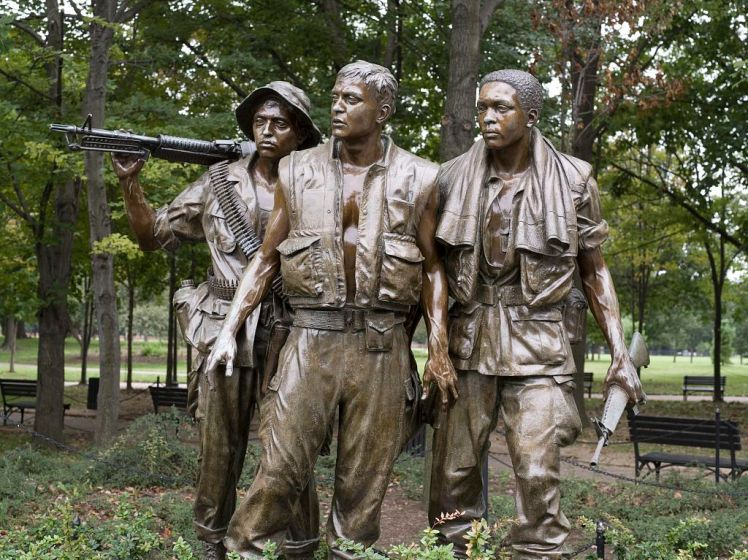 The Three Soldiers, Vietnam Veterans Memorial - Washington, D.C.