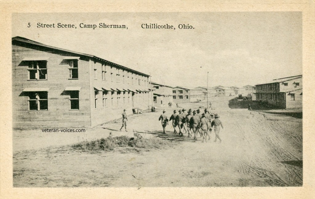 """Street Scene - Camp Sherman, Chillicothe, Ohio"""