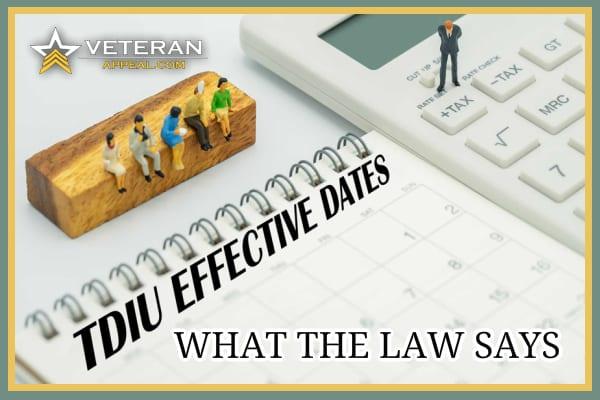 TDIU Effective Dates