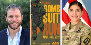 Sean Matson & Kaitlyn Hernandez Bomb Suit Run