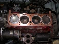 4 Zylinder Motor Detailansicht