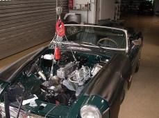 MG B Motorausbau