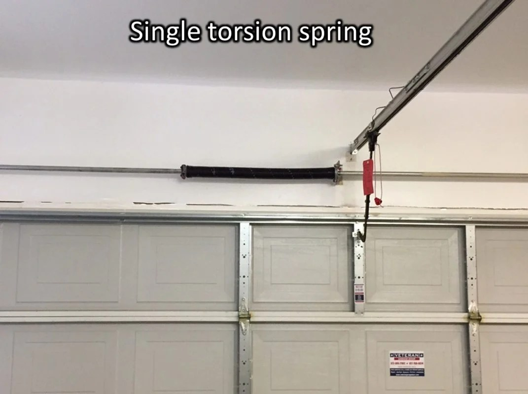 whats the cost to replace garage door torsion springs