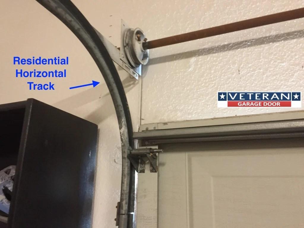 Garage Door Tracks  Veteran Garage Door
