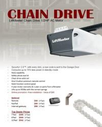 Chain Drive Opener Liftmaster
