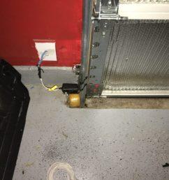 overhead door garage door safety sensor wiring [ 4032 x 3024 Pixel ]