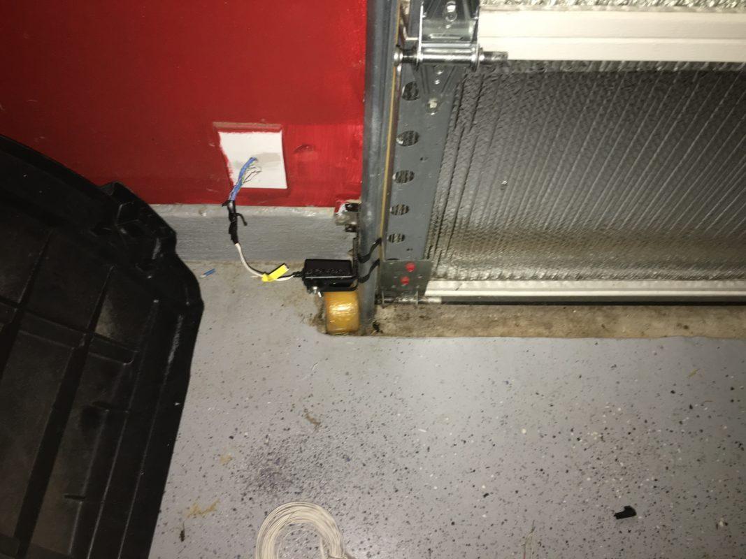 hight resolution of overhead door garage door safety sensor wiring
