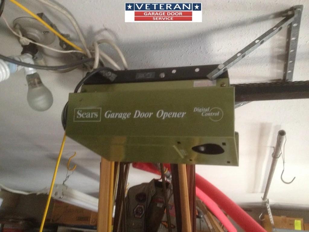 hight resolution of older garage door opener
