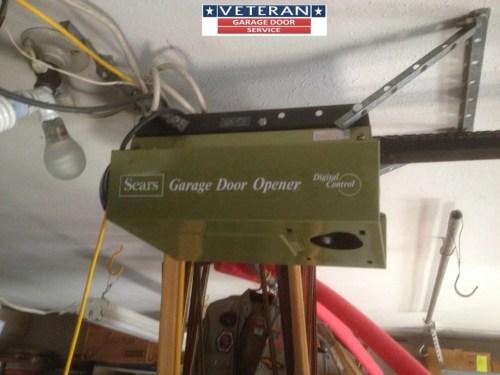 small resolution of older garage door opener