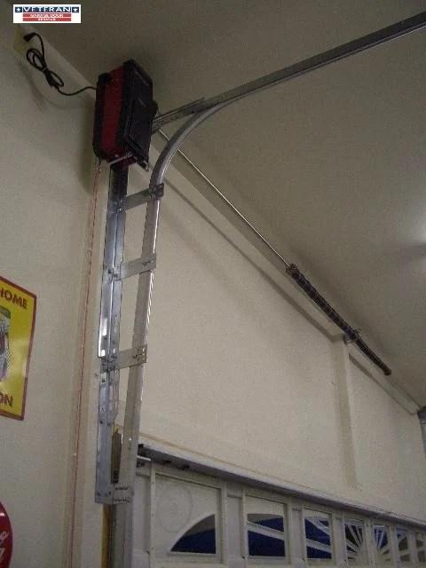 What is a high lift garage door?