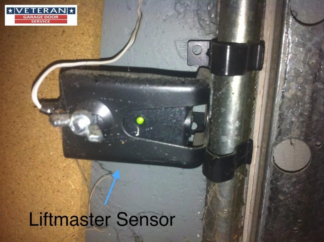 hight resolution of genie safety sensor