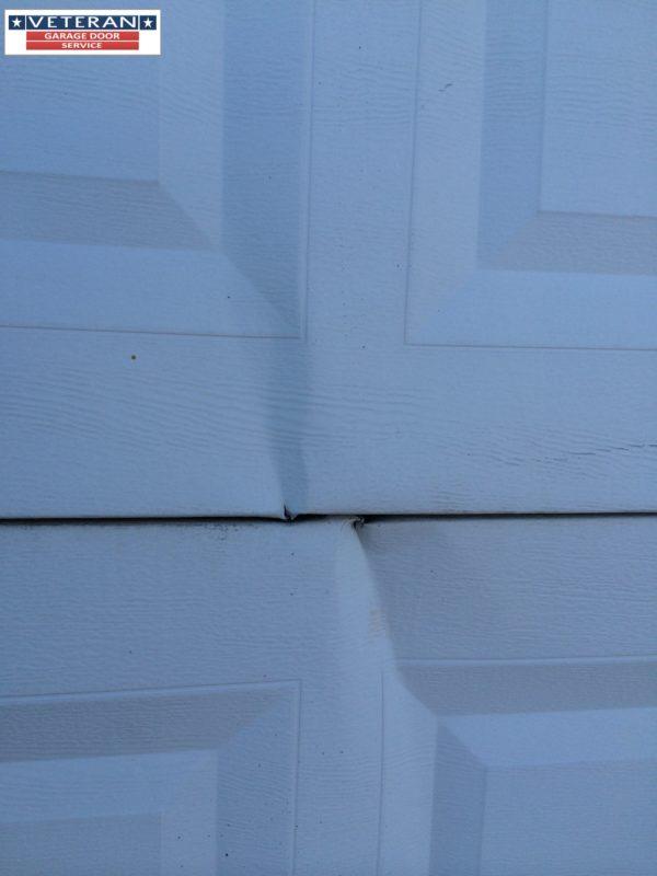 How to fix my garage door Is it possible to fix a split