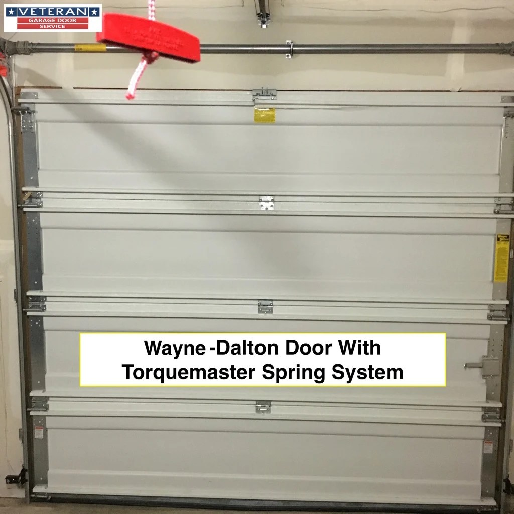 What is the Wayne Dalton Torquemaster springs system