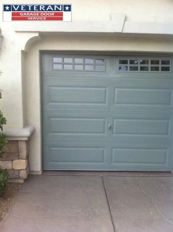 Is a garage door with windows more expensive