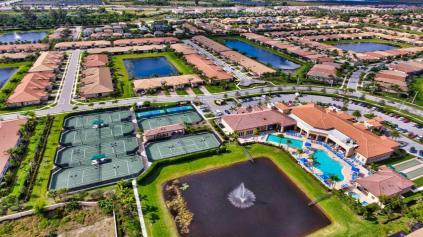 Villagio Reserve Delray Beach aerial view