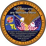 Our Veterans are Welcome Here Logo for Businesses