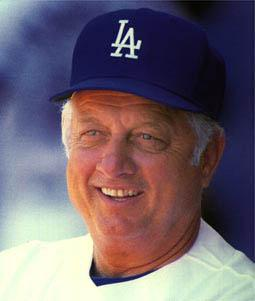 """Thomas Charles """"Tommy"""" Lasorda (born September 22, 1927) is a former Major League baseball player who has had a lengthy career in sports management."""