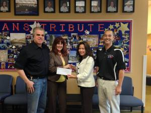 Special Thanks to The Veterans Tribute Academy Career and Technical Academy Ms. Tammy Cullum Boffelli, Principal, Mr. Jason Ginoza, Partnership Coordinator, Ms. Judy Schuler, Veterans Village Advisory Board member. The students raised funds for Veterans Village and our Crisis Intervention Center. ADVOCATE/EDUCATE/BUILD IT-;