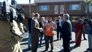 Senator Dean Heller at Veterans Village Las Vegas