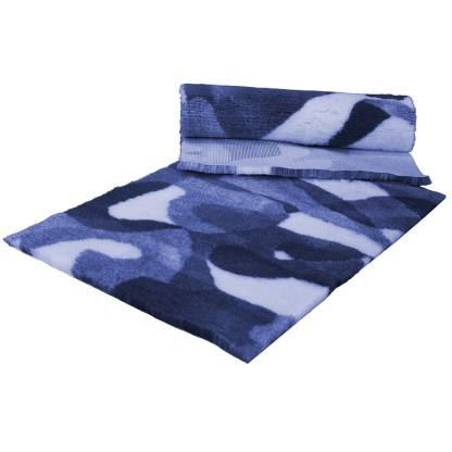 Vetfleece Non-Slip Camoflage Blue White