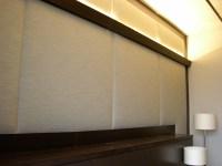 FABRIC WALL UPHOLSTERY | Beautiful fabric wall upholstery ...