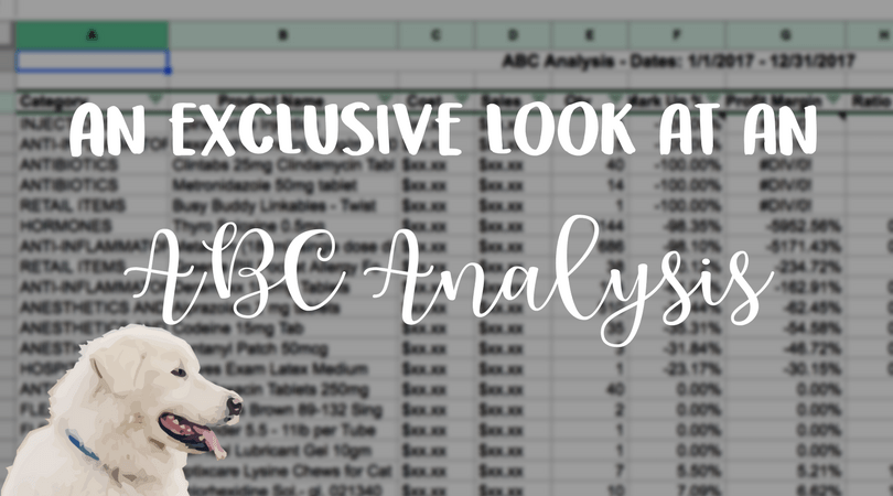 veterinary abc analysis