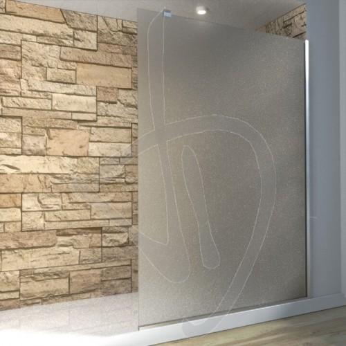 Vetro doccia fisso arredo bagno box doccia su misura