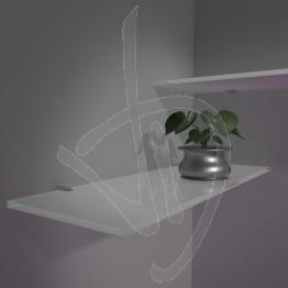 Mensola portaoggetti con frontale in cristallo colorato materiale acciaio. Mensole In Vetro Colorato Su Misura Vendita Online Mensole Su Misura Vetreria Dimensione Vetro