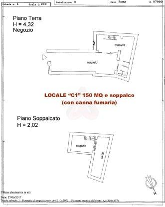 LOCALE COMMERCIALE C1 150 MQ