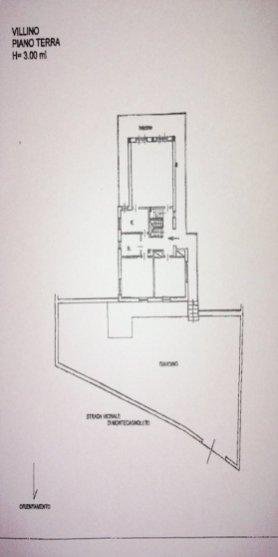 PLANIMETRIA GENZANO DI ROMA [PIANO TERRA] (VILLA IN VENDITA)