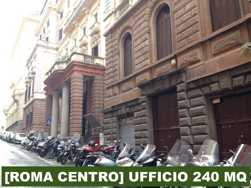 [ROMA CENTRO] UFFICIO 240 MQ