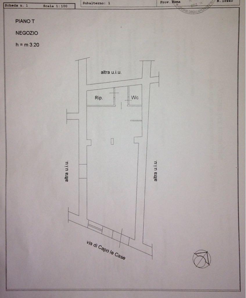 Affitto Negozio Zona Piazza di Spagna