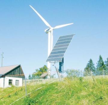 Ветрогенераторы и солнечные батареи для дачи.Мощность и энергия