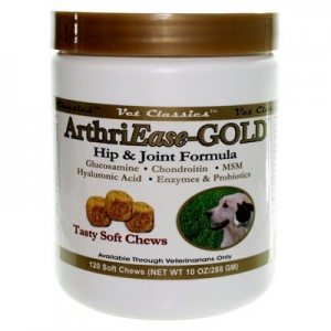 ArthriEase-Gold May Help Arthritis in Dogs