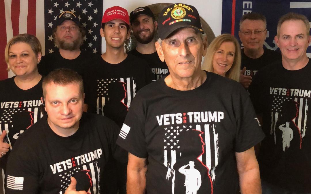 Vets For Trump United Front #VetsForTrump