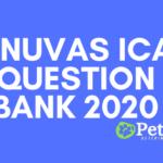 Tanuvas ICAR Question Bank 2020
