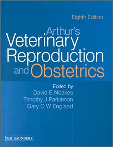 Arthur's Veterinary Reproduction and Obstetrics